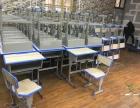 中小学生可升降课桌椅培训桌辅导桌批发