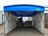 柯桥区大型电动伸缩雨棚,户外伸缩布帐篷,鑫建华大雨棚厂家