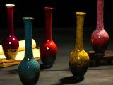 现代家居饰品窑变陶瓷工艺品花瓶家饰摆件创意小花插zakka装饰品