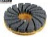 兄弟刷业定做磨料丝圆盘刷不锈钢铜丝盘刷去刺抛光圆盘刷