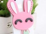 【伙拼】IPHONE5/5S卡通兔子镜子壳 4S苹果手机壳保护套