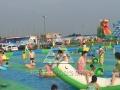 荆州地区支架水池泳池 2016新款专供 水上乐园水上滑梯 冲关