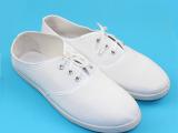 厂家直销丧事白事孝鞋小白鞋白色布鞋白网鞋