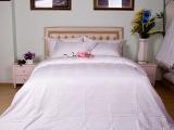 厂家批发酒店布草床品套件 全棉镶边床上四件套 宾馆床上用品套件