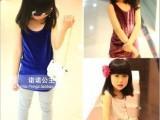 2014春夏装韩版童装丝绒背心纯色儿童长款打底背心 一件代发