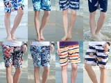 男式沙滩裤夏季海边休闲短裤时尚五分裤冲浪裤批发直销
