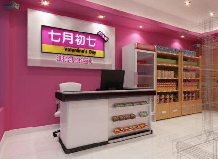 柳州加盟七月初七零食店图片