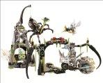 博乐10078新品系列黑寡妇的黑风盘丝洞拼装积木益智玩具
