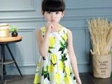 大庆童装女童连衣裙夏装2018新款韩版儿童公主裙女孩裙子