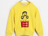 2014秋季新款童卫衣 韩版全棉卡通套头卫衣外套 薯条卫衣Z0.