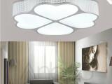低价新款超质量客厅卧室餐厅节能四叶草铁艺LED吸顶灯等灯具批发