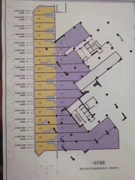 后海湾区赠送 78平送280平 12米售8.8万每平