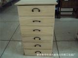 厂家直销定制 现代简约风格带抽屉儿童置物盒木质简易储物收纳柜