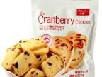 巴拿米 街乐庭 美国黄油手工 蔓越莓曲奇饼干 170g 糕点零食品
