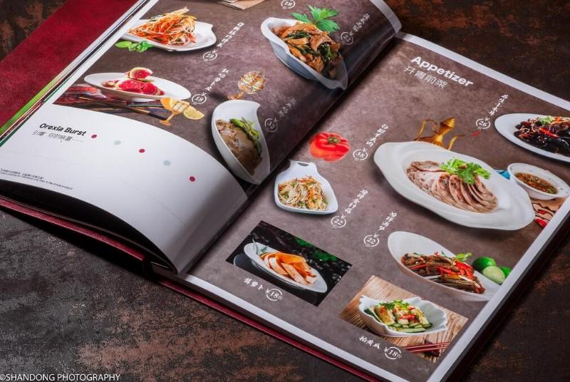 北京皮面菜谱设计菜谱制作活页菜谱制作可上门看样