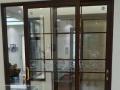 冠豪各类门窗,感应门 安装门 禁玻璃门