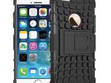 苹果配件iPhone6 plus5.5懒人支架手机壳 二合一机器