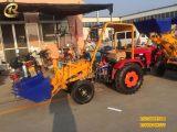 古田县工地装载机 建筑专业小铲车拓锐 小型工程铲车装载机价格