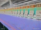 出售越美12針30頭350間距高速繡花機