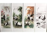 滕黛梦四季国宝臻品组 她的画具有巨大的诱惑力