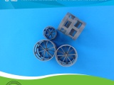 旭一环保供应塑料鲍尔环填料氯化聚氯乙烯(CPVC)鲍尔环