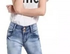 秋季清仓处理尾货服装 库存杂款女装韩版牛仔长裤 女式牛仔裤
