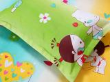 厂价直销  儿童羽丝绒枕芯 珍珠棉舒适枕保健护颈枕