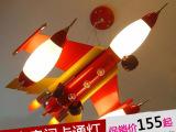儿童房间灯 创意卡通儿童卧室灯饰 飞机吊灯灯具 批发