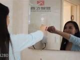 鑫飞卫生间LED灯镜壁挂浴室镜洗手间厕所灯镜卫浴镜子可定制