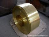 进口电极红铜 TU2无氧铜性能 磷脱氧铜 高纯度红铜带