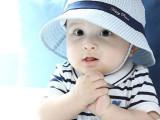 韩国设计 宝宝纯棉渔夫帽子韩版婴儿童全棉盆帽田园太阳帽 春秋季