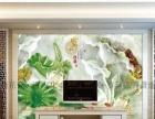 来宾青花瓷艺术瓷砖背景墙 彩雕浮雕3D背景墙