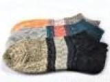 厂家批发 外贸原单袜子 复古民族风袜子 船袜 全棉男袜子外贸船袜