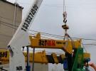 楼房说沙子恒通小型吊机 小吊机 小型吊运机 电动吊篮