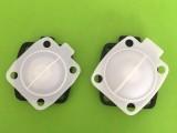 食品级xibolun复合机械隔膜片M3/M4螺纹希伯伦垫片