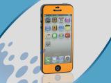 手机彩膜 iphone5手机彩色全身贴膜 高清膜 手机保护膜批发