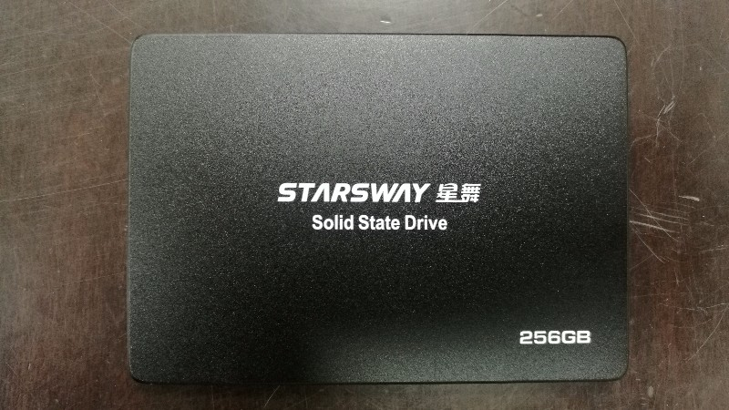 搬家低价急转全新未拆封STARS WAY星舞256G固态硬盘