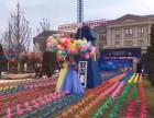 浙江宁波风车节 七彩风车长廊 擦地风车荷兰风车 风车主题展览