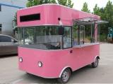 本公司专业生产小吃车早餐车多功能电餐车电动四轮车快餐车