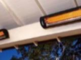 挂壁式电取暖器