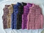 2014冬季立领羽绒背心短款修身轻薄羽绒马甲时尚优质羽绒服女款