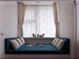 天津海光寺窗帘定做,窗帘杆轨道安装