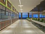 合肥学校食堂装修,注入校园文化设计,提升师生的就餐氛围