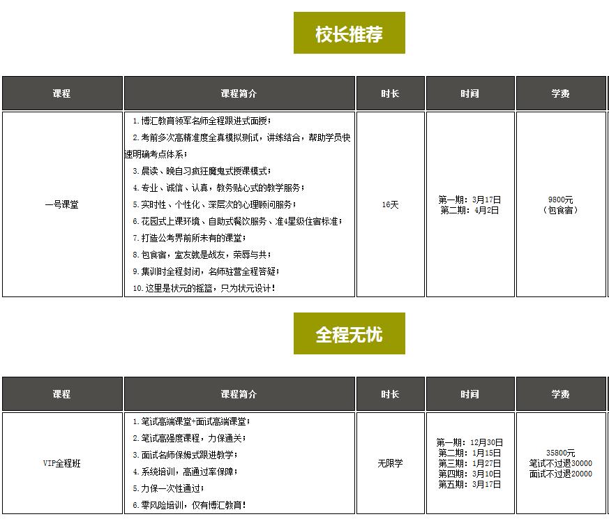 博汇教育 2018年广西公务员考试二期班