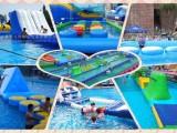 水上闯关组合 水上游乐设施 水上乐园设备 充气闯关器材