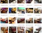 海珠区快餐店桌椅西餐厅桌椅沙发卡座实木桌椅厂家直供款式尺寸