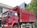 工程结束,中国重汽金王子自缷货车急转,手续齐全。