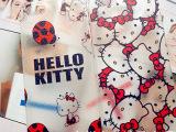 可爱hello kitty凯蒂猫皮纹荔枝纹镂空透明iPhone5