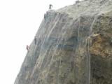 主动边坡防护网厂家 钢丝绳网 边坡防护菱形网 赵发丝网
