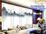 机制手绘 纯手绘背景墙高端软包全新制作价格实惠